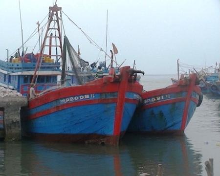Hai tàu cá bị bắt giữ