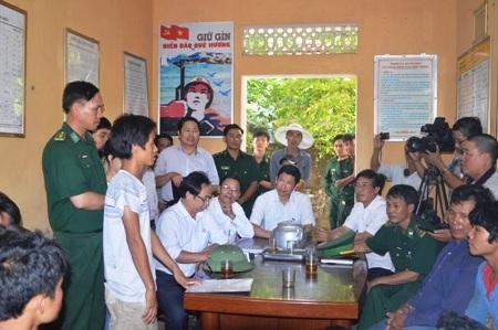 Thuyền viên Nguyễn Anh Hùng thuật lại sự việc