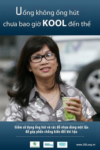 Sao Việt rầm rộ tham gia chiến dịch chống biến đổi khí hậu - 2
