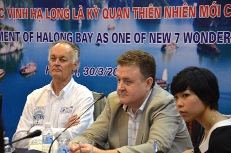 Vịnh Hạ Long chính thức là kỳ quan thiên nhiên mới