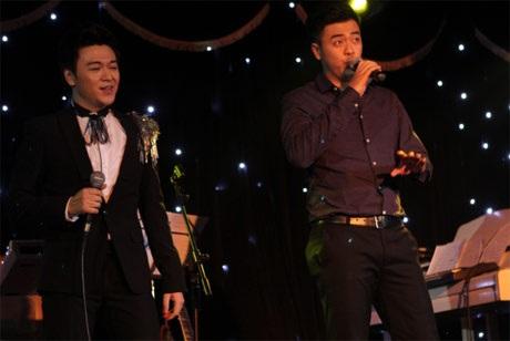 Anh em Tuấn Tú đã có màn song ca Nỗi lòng người đi của nhạc sĩ Anh Bằng