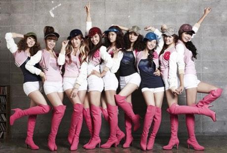 Nhóm nhạc nữ Hàn Quốc SNSD