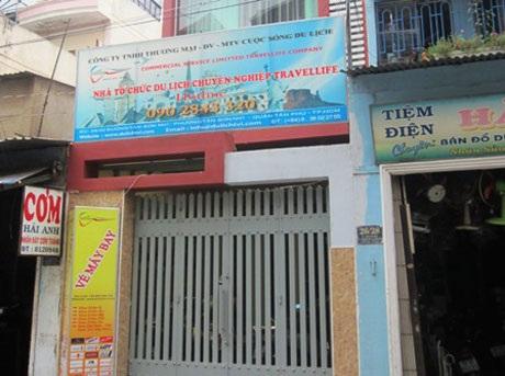 Trụ sở công ty Travel Life đóng cửa im lìm sauvụ 500 du khách Việt bị bỏ rơi