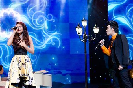 Hồ Quỳnh Hương song ca với Quang Hà ca khúc Nụ hôn cuối cùng của Nguyễn Quang