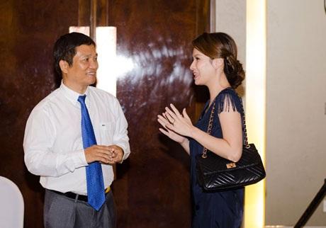 Đan Lê trò chuyện với doanh nhân Đinh Công Trạng