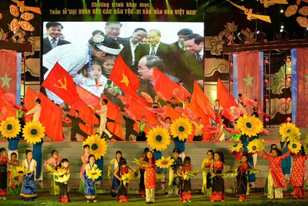 Một số hình ảnh khác tại lễ khai mạc