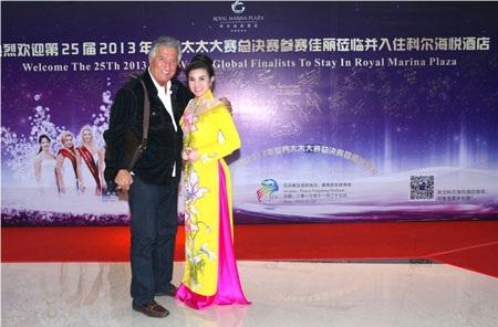 Đệ nhất Kim Hồng hội ngộ các giám khảo Hoa hậu Quý bà Thế giới