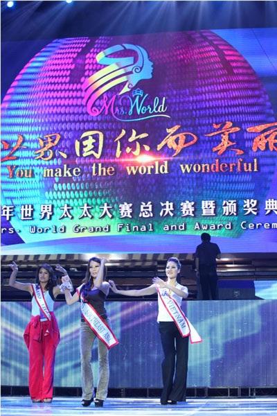 Trần Thị Quỳnh (áo trắng) tự tin tập luyện cùng các thí sinh