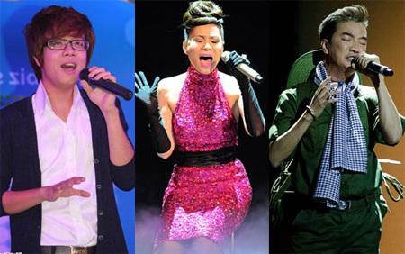 Bùi Anh Tuấn, Thu Minh và Đàm Vĩnh Hưng chạy đua đến giải thưởng Bài hát của năm trị giá 1 tỷ đồng