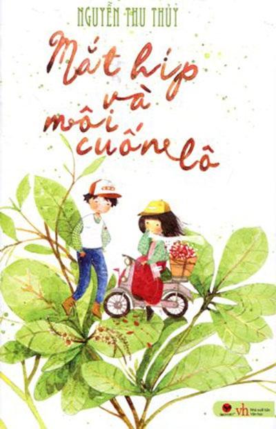 Bìa cuốn Mắt híp và môi cuốn lô vừa ra mắt của tác giả Nguyễn Thu Thủy