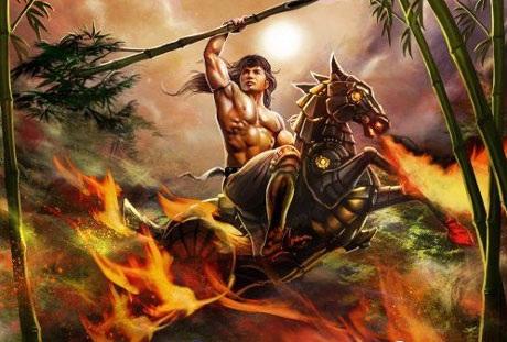 Ngựa sắt của Phù Đổng Thiên Vương (Thánh Gióng) có khả năng phun lửa