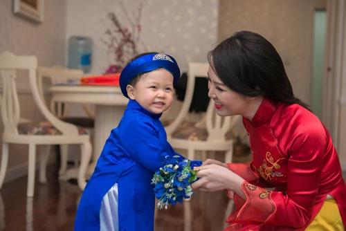 Đối với Thụy Vân, gia đình, chồng con là quan trọng nhất (Ảnh: Chàng Trai & Chí Linh)
