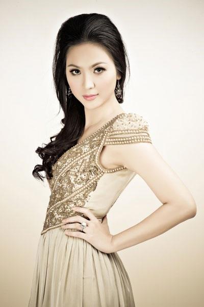 Hoa hậu Việt Nam 2000 Phan Thu Ngân