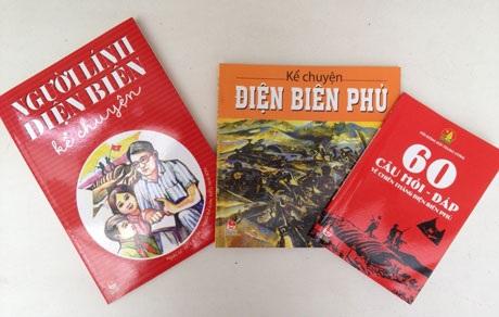 Kỷ niệm 60 năm chiến thắng Điện Biên, nhiều cuốn sách về chủ đề Điện Biên được ra mắt
