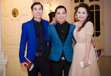 Vợ chồng nghệ sỹ Thanh Hà- Thúy Trang và nhà báo Ngô Bá Lục