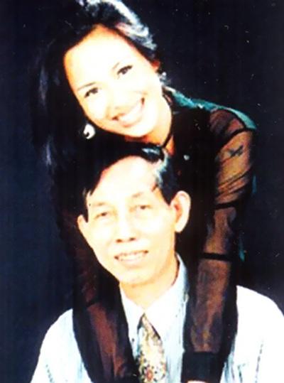 Thuận Yến và con gái Thanh Lam. Ông luôn dành tình thương đặc biệt cho con gái...