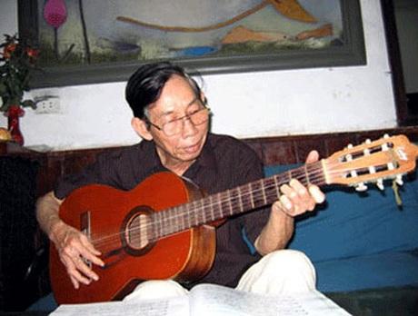 Nhạc sỹ Thuận Yến khi còn khỏe
