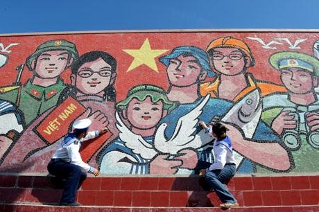 Một góc bức tranh Trường Sa - Sức mạnh Việt Nam