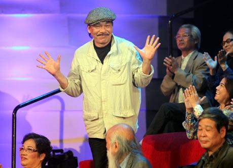 Trần Tiến là khách mời bình luận của chương trình Giai điệu tự hào số 3- Rừng cây, đời người