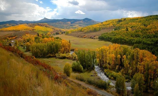 Những nông trại gia súc tại khu bảo tồn hoang dã quốc gia của tiểu bang Colorado