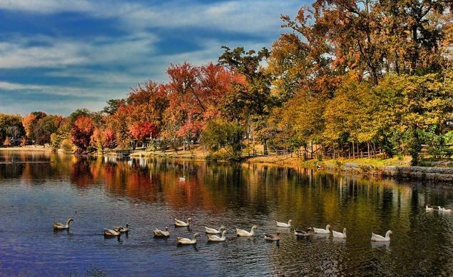 Hồ Haddon tại khu Audubon của tiểu bang New Jersey