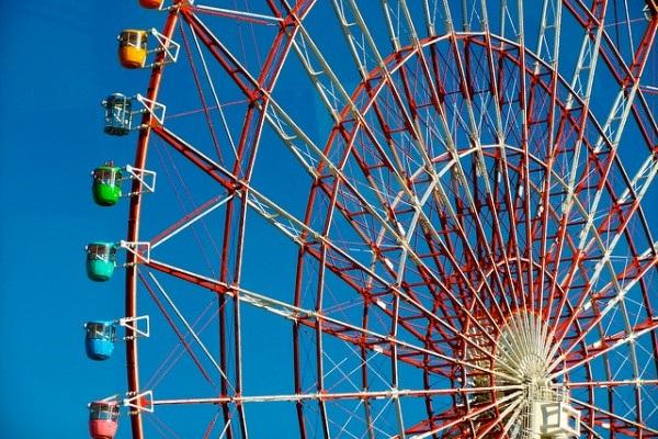 Vòng đu quay Daikanransha tại Tokyo, 115 mét
