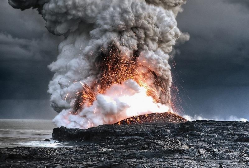 Núi lửa Kilauea trên đảo Hawaii
