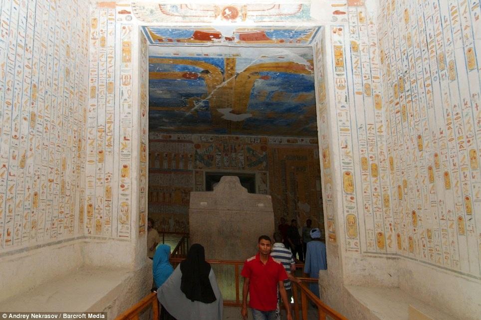 Những chữ viết tượng hình của người Ai Cập cổ đại