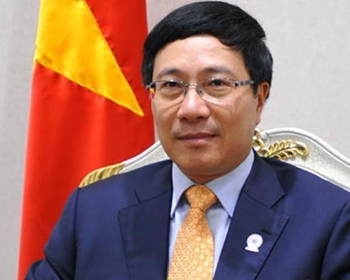 Phó Thủ tướng, Bộ trưởng Ngoại giao Phạm Bình Minh