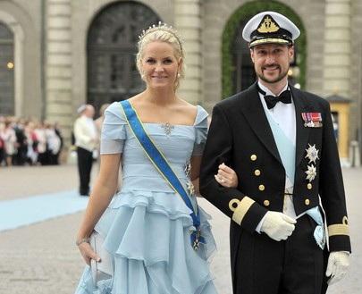 Hoàng Thái tử Haakon và Công nương Mette Marit. (Nguồn: royaltyinthenews.com)