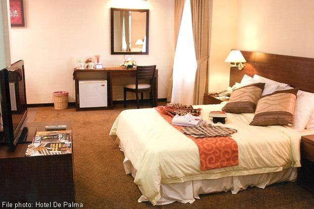 Một căn phòng khách sạn tại Malaysia dành cho du khách Hồi giáo