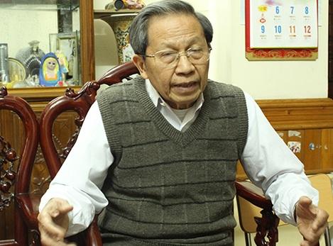 Thiếu tướng Lê Văn Cương (Ảnh Nam Hằng)