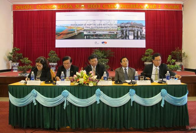 Phiên họp về hợp tác liên kết phát triển du lịch 3 tỉnh duyên hải miền trung (Ảnh ESRT)