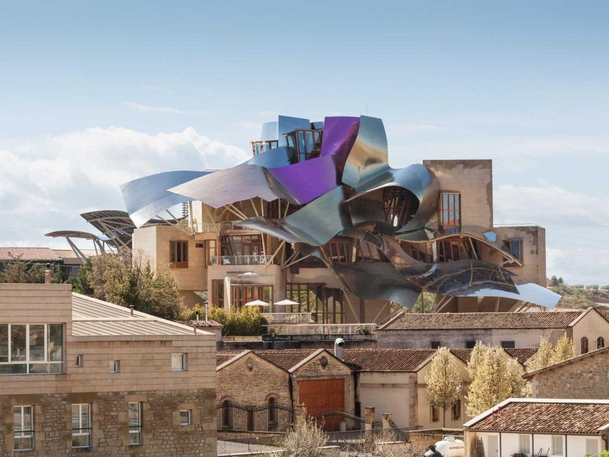 Khách sạn Marqués de Riscal Winery, Rioja, Tây Ban Nha