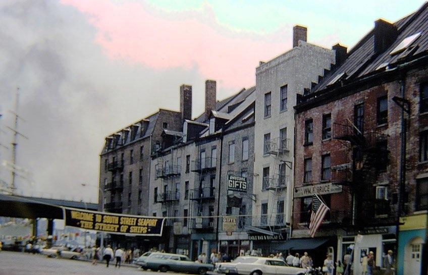 Khu hải cảng phố South (năm 1968)