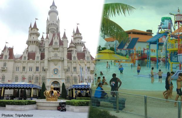 Universal Studios Singapore, công viên chủ đề số 1 châu Á