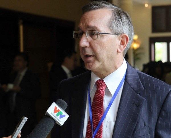 Phó Trợ lý Ngoại trưởng Hoa Kỳ phụ trách Đông Á-Thái Bình Dương Scot Marciel. Ảnh: TTXVN