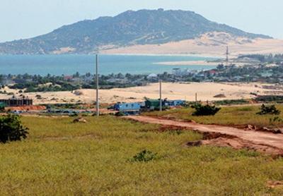 Mặt bằng để xây dựng nhà máy điện hạt nhân Ninh Thuận 1