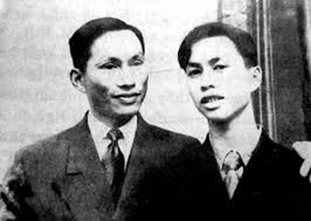 GS. Đặng Văn Ngữ và con trai Đặng Nhật Minh