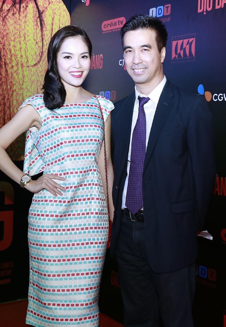 Đạo diễn phim và diễn viên Dương Cẩm Lynh