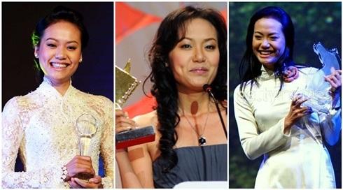 Hồng Ánh đã đoạt rất nhiều giải thưởng về điện ảnh (ảnh Internet)