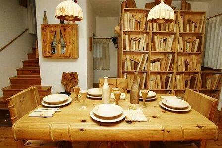 Đồ gỗ tinh xảo của nghệ nhân người Ý