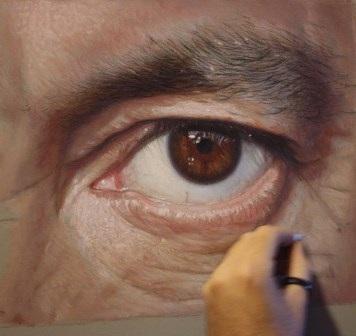 Tranh vẽ củaRuben Belloso Adorna đẹp như ảnh chụp