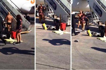 Hành động hung hăng của người đàn ông khiến phi công điều hành chuyến bay từ