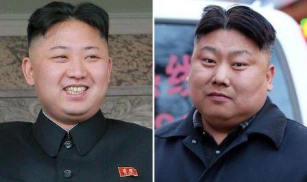 Ông Kim Jong-un (trái), anh Manchu Tuan (phải)