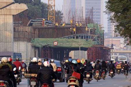 Ban QLDAđường sắt đô thị Cát Linh - Hà Đông nhiều tai tiếng vừa có TGĐ mới (ảnh: Hữu Nghị)