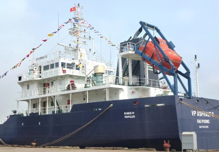 Tàu VP Asphalt 2 của Việt Nam chở 2.300 tấn nhựa đường và 16 thuyền viên bị cướp biển tấn công