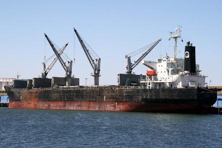 Tàu Bulk Jupiter (quốc tịch Bahamas) khi chưa gặp nạn.