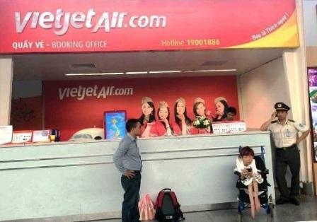 Chị Vân bị từ chối vận chuyển tại sân bay Đà Nẵng chiều 2/4.