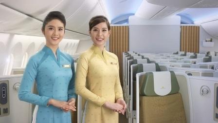 Đồng phục mới của tiếp viên Vietnam Airlines ra mắt bắt đầu ra mắt từ hôm nay (3/3)